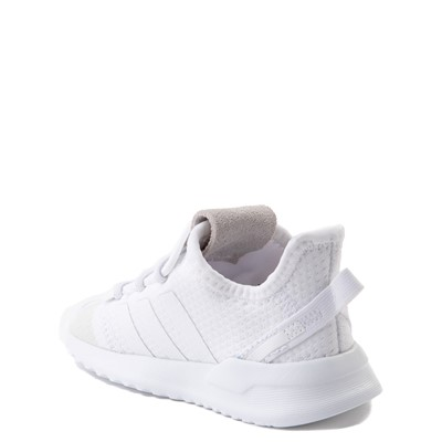 Alternate view of adidas U_Path Run Athletic Shoe - Baby / Toddler - White Monochrome