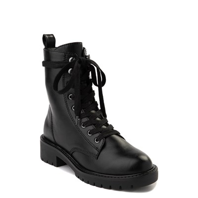 Alternate view of Womens Madden Girl Parker Combat Boot - Black