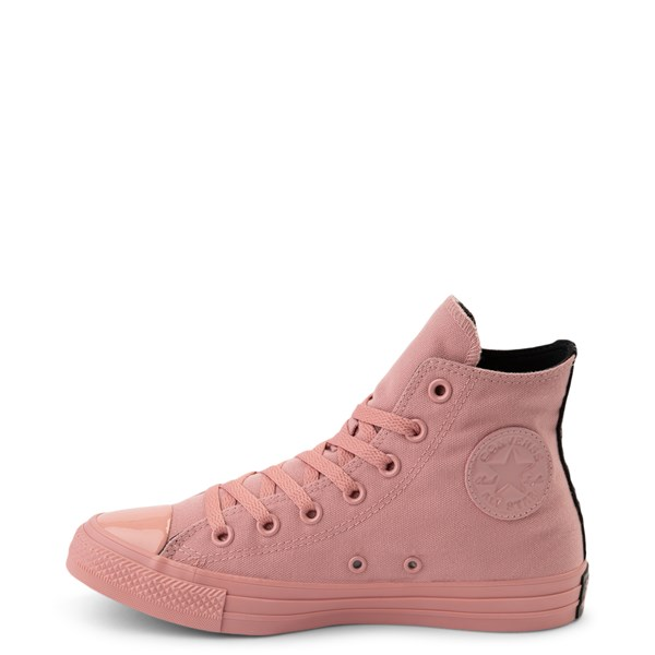 alternate view Converse x OPI Chuck Taylor All Star Hi Sneaker - Rust PinkALT1