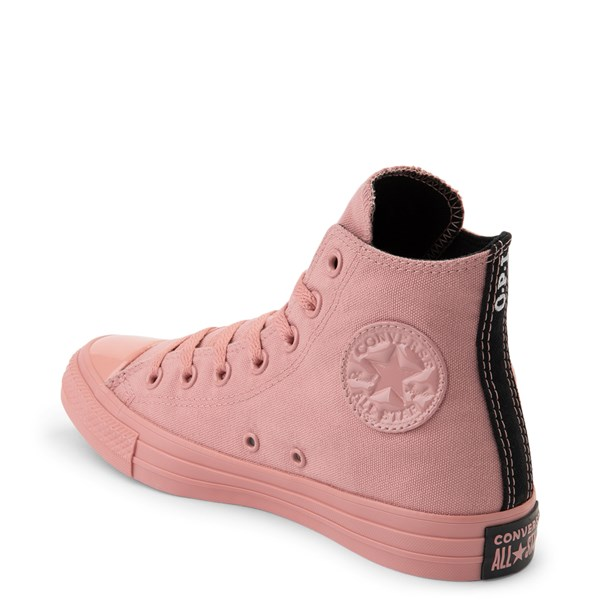 alternate view Converse x OPI Chuck Taylor All Star Hi Sneaker - Rust PinkALT2