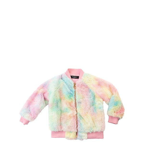 Fur Bomber Jacket - Little Kid