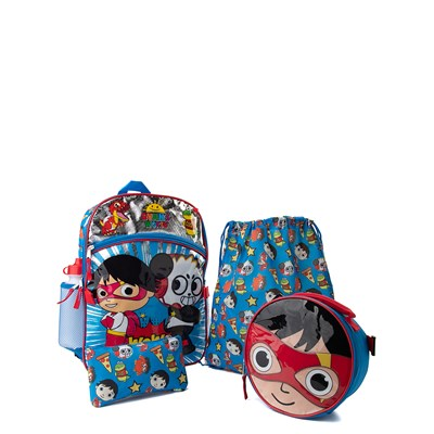 Main view of Ryan's World 5-Piece Backpack Set