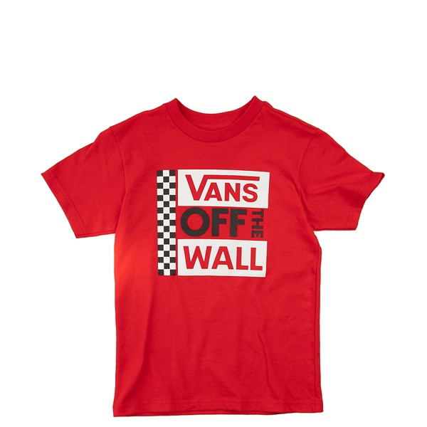 Default view of Vans Off The Wall Tee - Toddler - Red