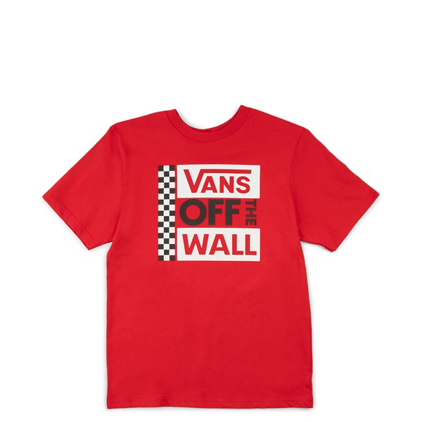 Default view of Vans Off The Wall Tee - Little Kid - Red