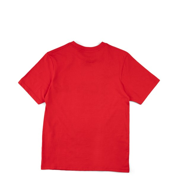 alternate view Vans Off The Wall Tee - Little Kid - RedALT1