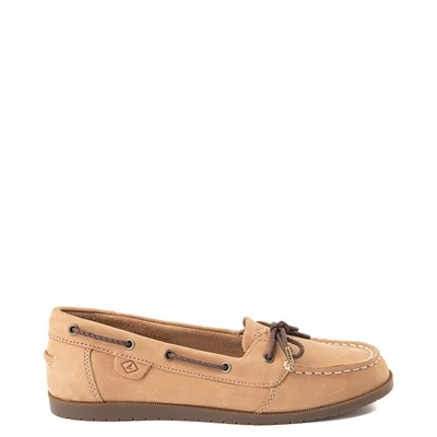 Main view of Sperry Top-Sider Authentic Original 1-Eye Boat Shoe - Little Kid / Big Kid - Tan