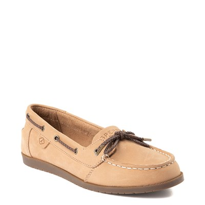 Alternate view of Sperry Top-Sider Authentic Original 1-Eye Boat Shoe - Little Kid / Big Kid - Tan