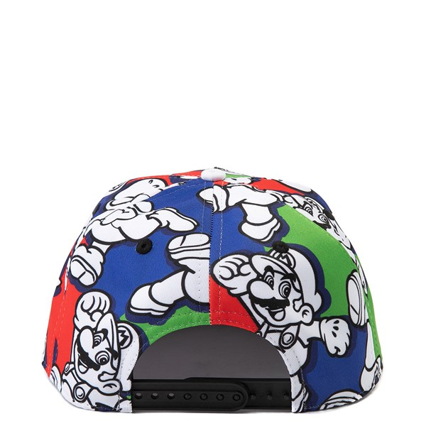 alternate view Super Mario Snapback Cap - Little KidALT2