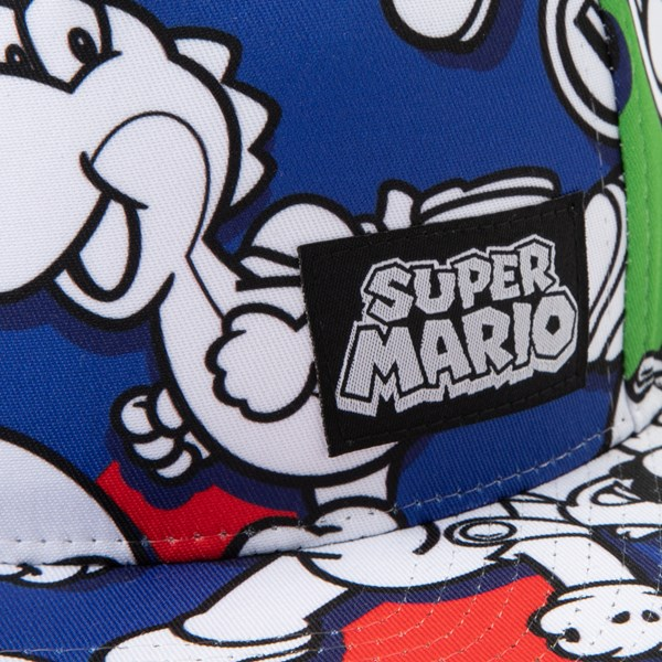 alternate view Super Mario Snapback Cap - Little KidALT3