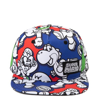 Main view of Super Mario Snapback Cap - Little Kid