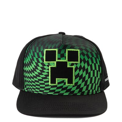 Main view of Minecraft Creeper Snapback Cap