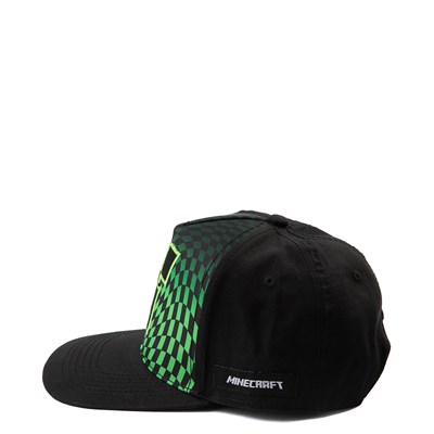 Alternate view of Minecraft Creeper Snapback Cap
