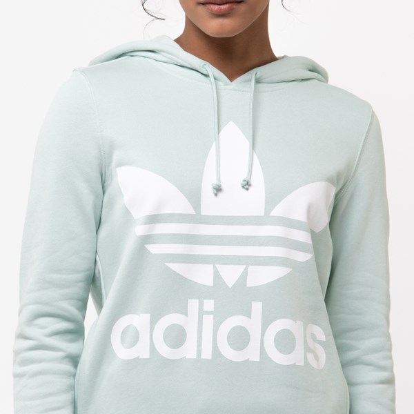 alternate view Womens adidas Trefoil HoodieALT4