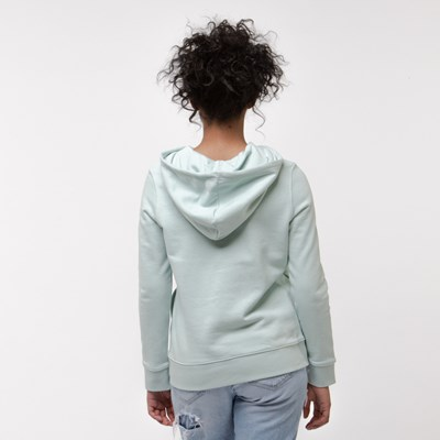 Alternate view of Womens adidas Trefoil Hoodie - Vapor Green