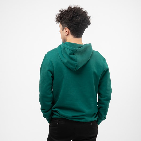 alternate view Mens adidas Trefoil Hoodie - Noble GreenALT2