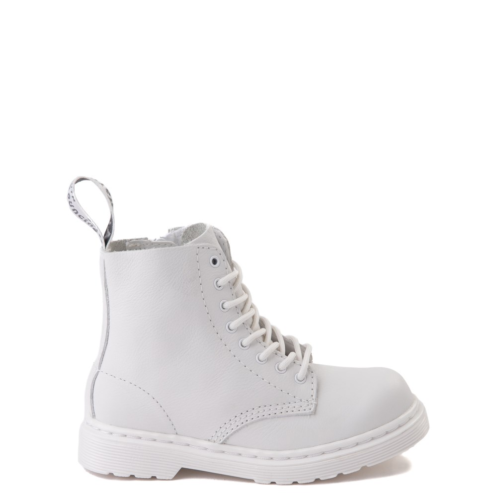 Dr. Martens 1460 Pascal 8-Eye Boot - Toddler - White Monochrome