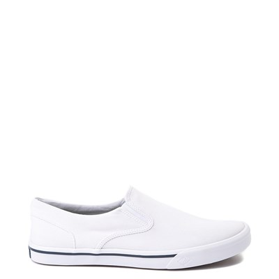 Main view of Mens Sperry Top-Sider Striper II Slip-On Casual Shoe - White