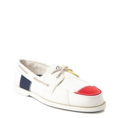 Alternate view of Mens Sperry Top-Sider Authentic Original Bionic Boat Shoe - White / Multi