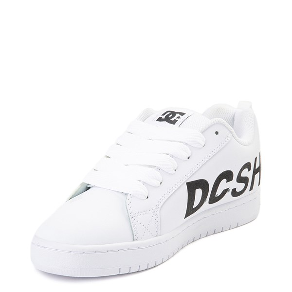 alternate view Mens DC Court Graffik SE Skate ShoeALT3