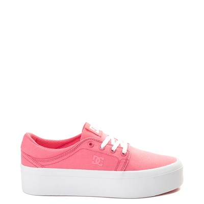 Main view of Womens DC Trase TX Platform Skate Shoe
