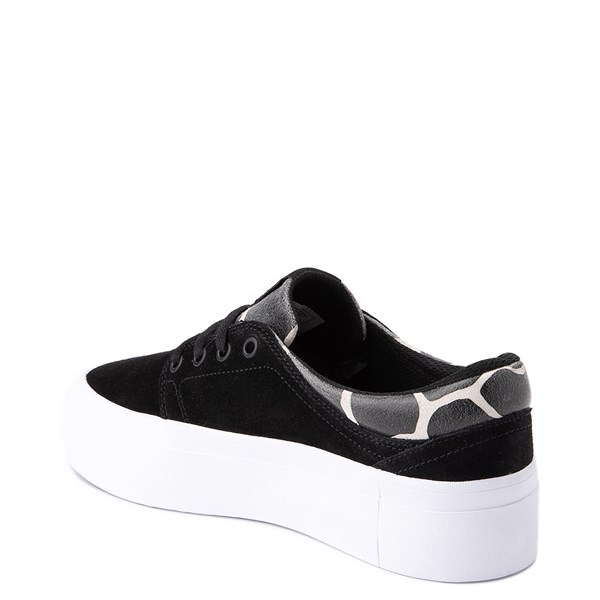 alternate view Womens DC Trase Platform SE Skate ShoeALT2