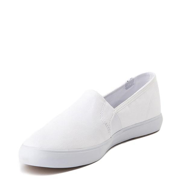 alternate view Womens Keds Clipper Slip On Casual Shoe - WhiteALT3
