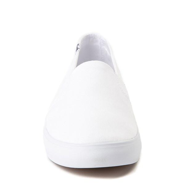 alternate view Womens Keds Clipper Slip On Casual Shoe - WhiteALT4