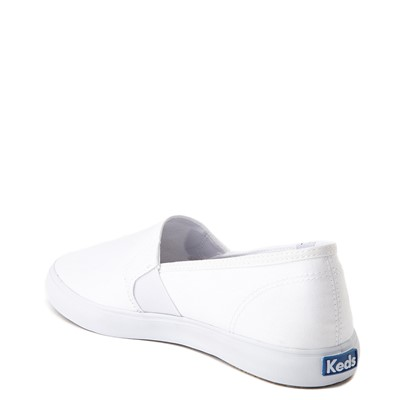 Alternate view of Womens Keds Clipper Slip On Casual Shoe - White