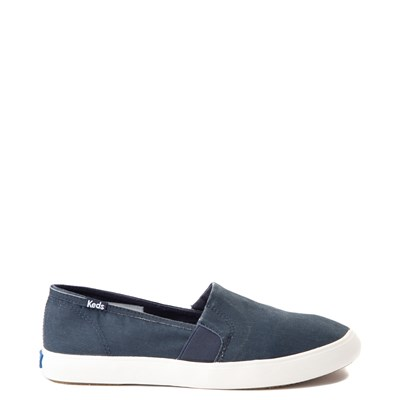Main view of Womens Keds Clipper Slip On Casual Shoe - Navy