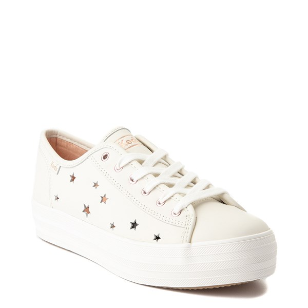 Alternate view of Womens Keds Triple Kick Star Leather Casual Shoe