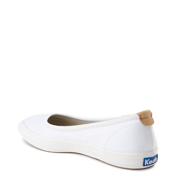 alternate view Womens Keds Bryn Flat - WhiteALT2