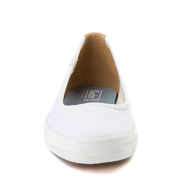 alternate view Womens Keds Bryn Flat - WhiteALT4