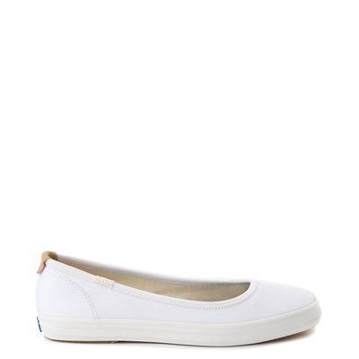 Main view of Womens Keds Bryn Flat - White