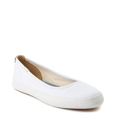 Alternate view of Womens Keds Bryn Flat - White