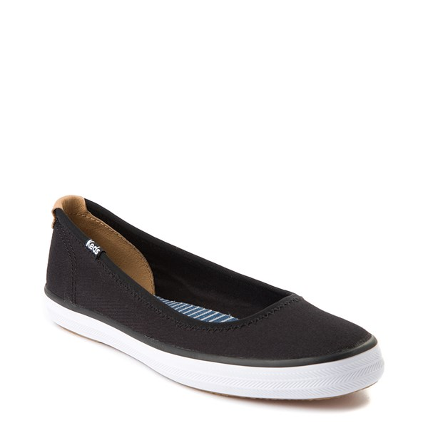 alternate view Womens Keds Bryn Flat - BlackALT1