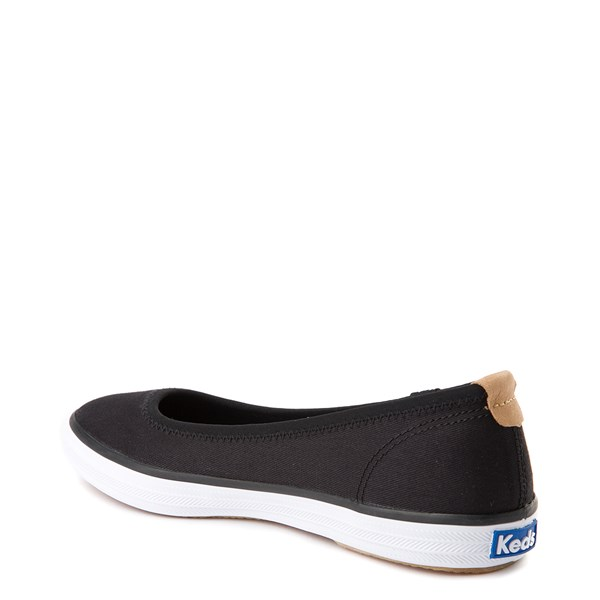 alternate view Womens Keds Bryn Flat - BlackALT2