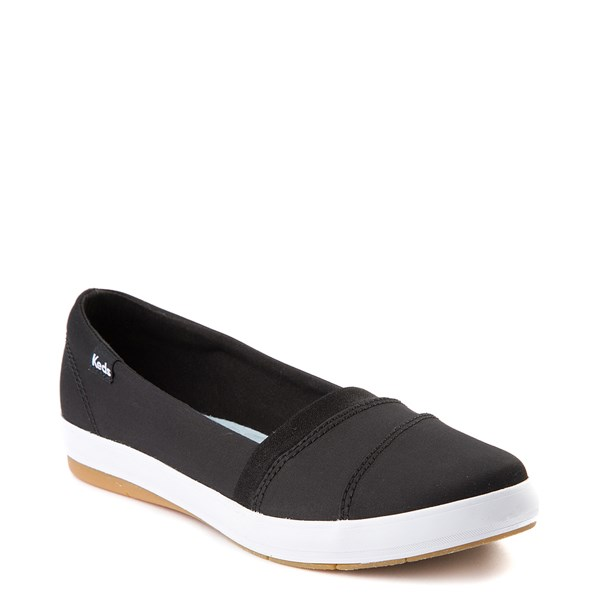 alternate view Womens Keds Carmel Slip On Casual Shoe - BlackALT1