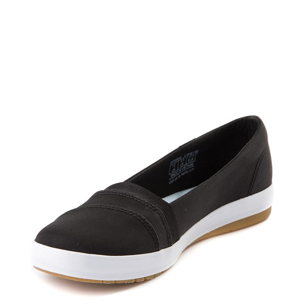 alternate view Womens Keds Carmel Slip On Casual Shoe - BlackALT3