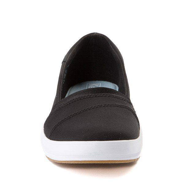 alternate view Womens Keds Carmel Slip On Casual Shoe - BlackALT4