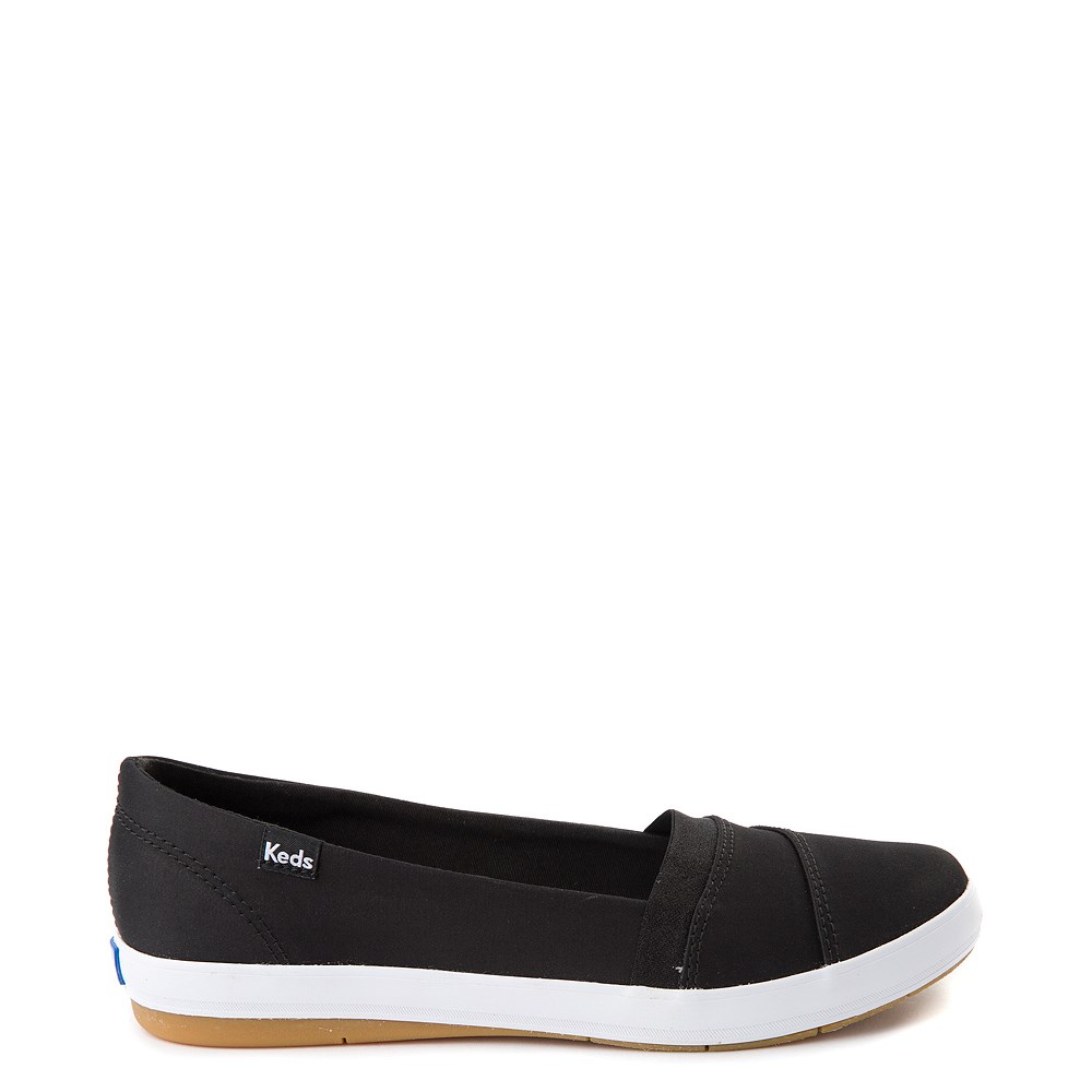 Womens Keds Carmel Slip On Casual Shoe - Black