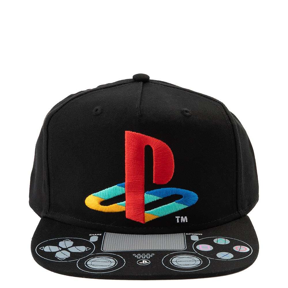 Playstation Controller Snapback Cap - Little Kid - Black