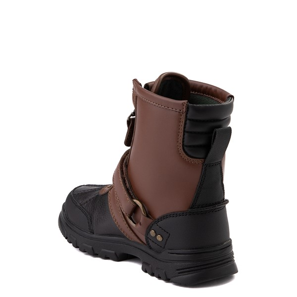 alternate view Conquered Boot by Polo Ralph Lauren - Little Kid - Brown / BlackALT1