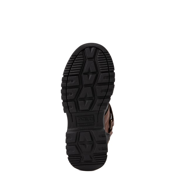 alternate view Conquered Boot by Polo Ralph Lauren - Little Kid - Brown / BlackALT3