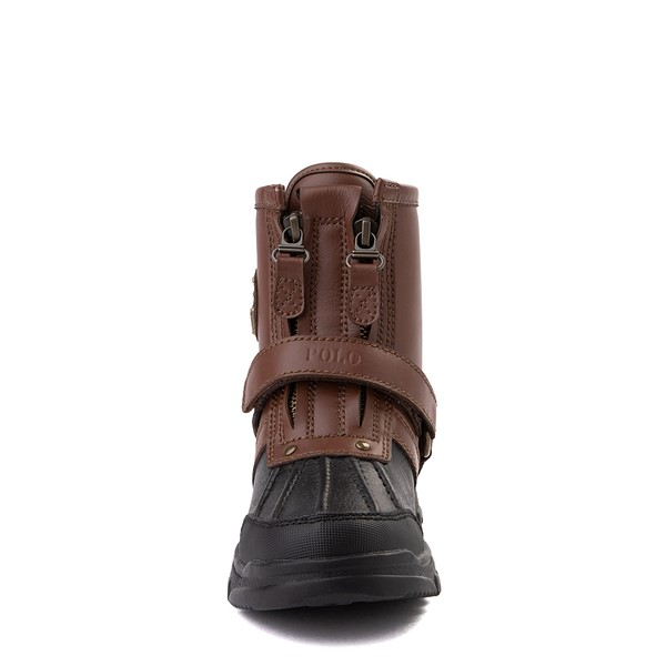 alternate view Conquered Boot by Polo Ralph Lauren - Little Kid - Brown / BlackALT4