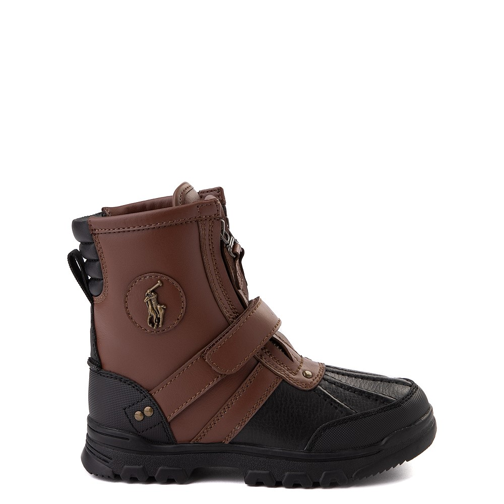 Conquered Boot by Polo Ralph Lauren - Little Kid - Brown / Black