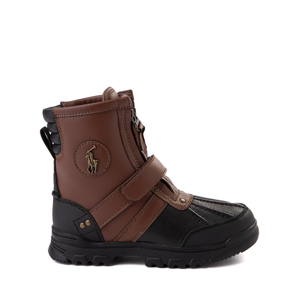 Conquered Boot by Polo Ralph Lauren - Big Kid - Brown / Black