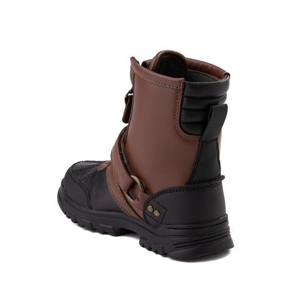 alternate view Conquered Boot by Polo Ralph Lauren - Big Kid - Brown / BlackALT1