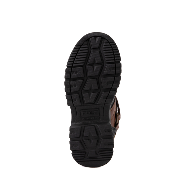 alternate view Conquered Boot by Polo Ralph Lauren - Big Kid - Brown / BlackALT3