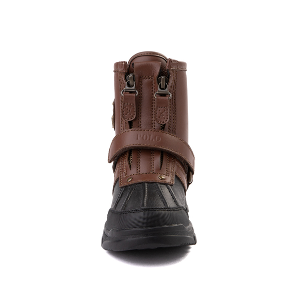 alternate view Conquered Boot by Polo Ralph Lauren - Big Kid - Brown / BlackALT4