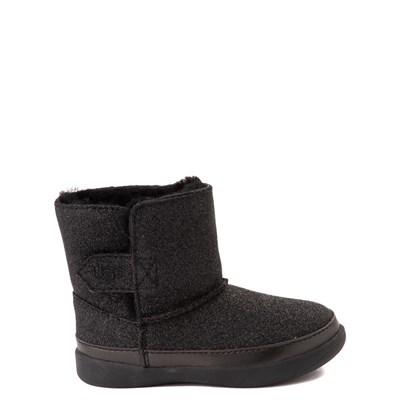 Main view of UGG® Keelan Glitter Boot - Toddler / Little Kid - Black